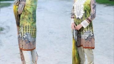 Sana & Samia Midsummer Dresses 2016 By Lala Textiles003