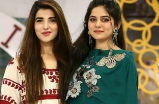 Sanam Baloch and Hareem Farooq