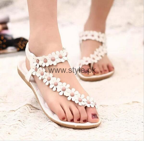 Excellent Latest Collection Of Casual Flat Sandals For Women By Unze