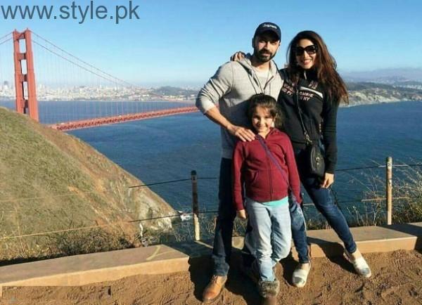 Zhalay Sarhadi With Family In USA