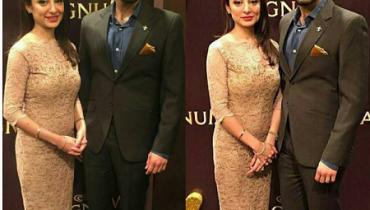 See Beautiful Clicks of Sarwat Gilani and Fahad Mirza at Magnum Party 2016