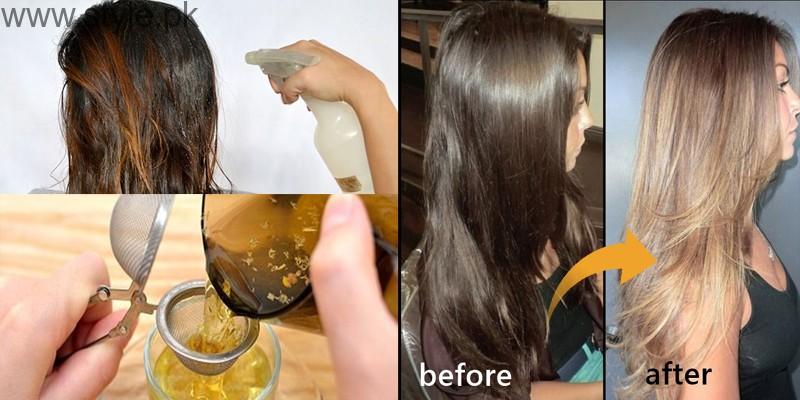 Bleach hair using natural ingredients00
