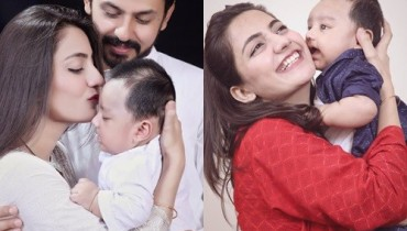 See Family Pictures of Bilal Qureshi and Uroosa Qureshi