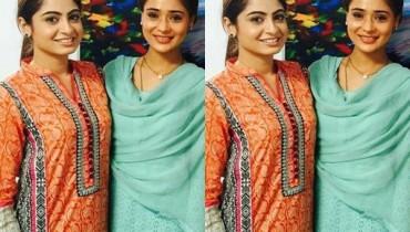 See Indian Actress Sara Khan on Location of her debut Pakistani Drama