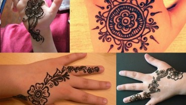 See Latest Mehndi Designs 2016 for Kids