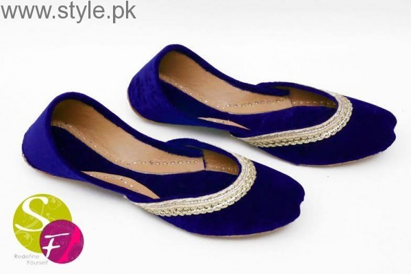 Latest Pakistani Khussa Designs 2016 for Eid (13)