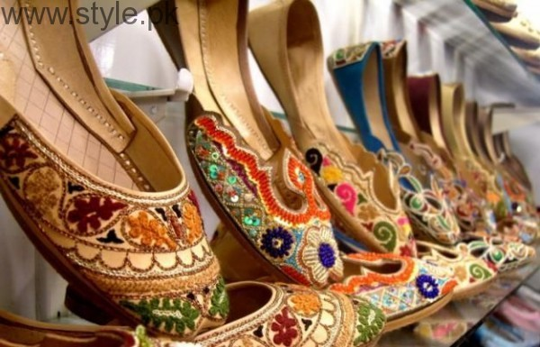 Latest Pakistani Khussa Designs 2016 for Eid (2)