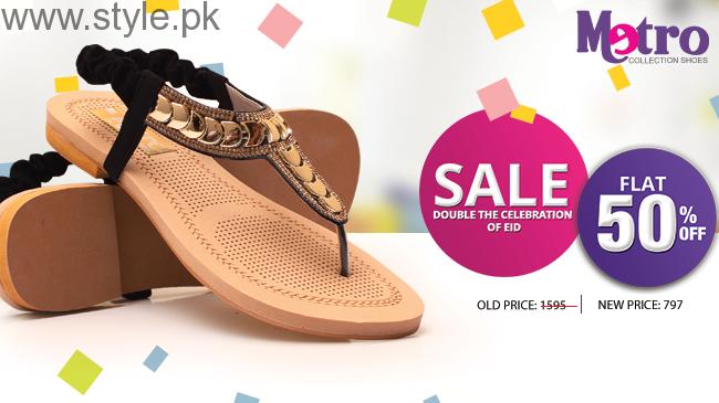 Metro Eid Ul Azha Shoes And Bags 2016 For Women003