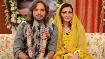 Nouman Javaid and Jana Malik's Mehndi Pictures (3)