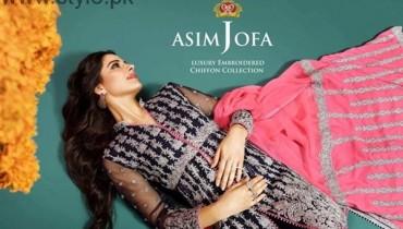 Asim Jofa Chiffon Dresses 2016 For Women004