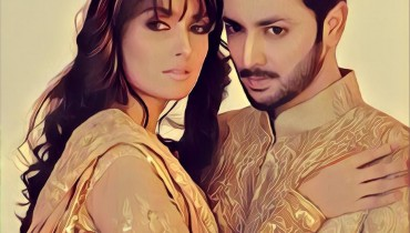 Ayeza Khan and Danish Taimoor's Photoshoot for Mansoor Akram Couture (6)