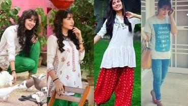 See Ayeza Khan's pictures from the set of 'Mohabbat Tum Se Nafrat Hai'