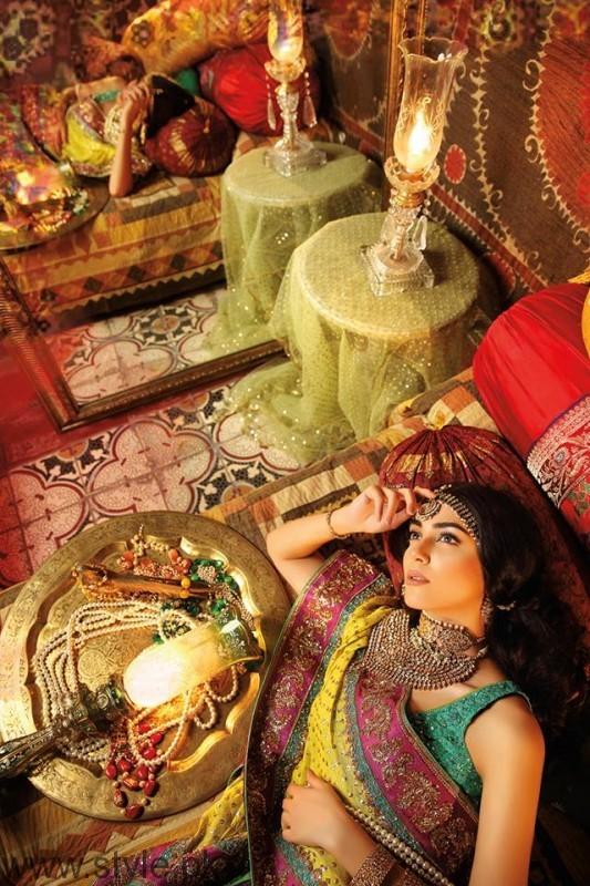 Deeya Jewellers UK photoshoot Maya Ali