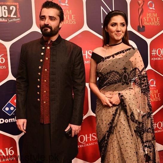 Hamza&Mahira Hum Style Awards