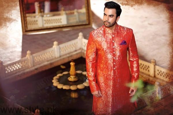 Junaid Khan Photoshoot For Nomi Ansari