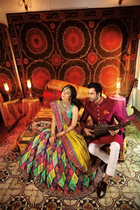Junaid Khan and Maya Ali For Nomi Ansari