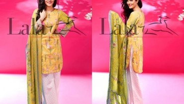 Lala Textiles Cotton Embroidered Dresses 2016 For Women002