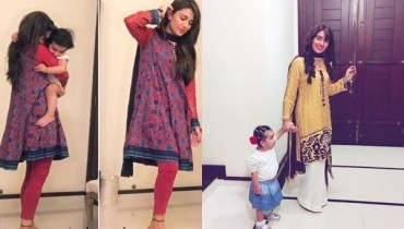 See Latest Clicks of Ayeza Khan with her daughter HoorainLatest Clicks of Ayeza Khan with her daughter Hoorain