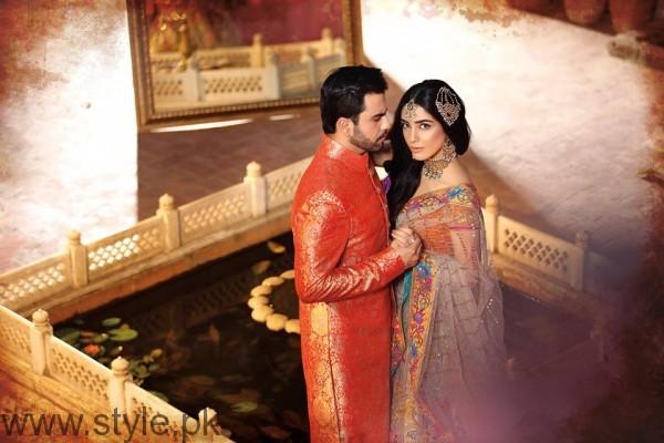 Maya Ali & Junaid Khan Photoshoot by Azeem Sani