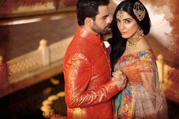 Maya Ali and Junaid Khan For Nomi Ansari