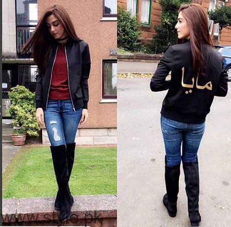 Maya Ali's pictures from Scotland Tour (2)