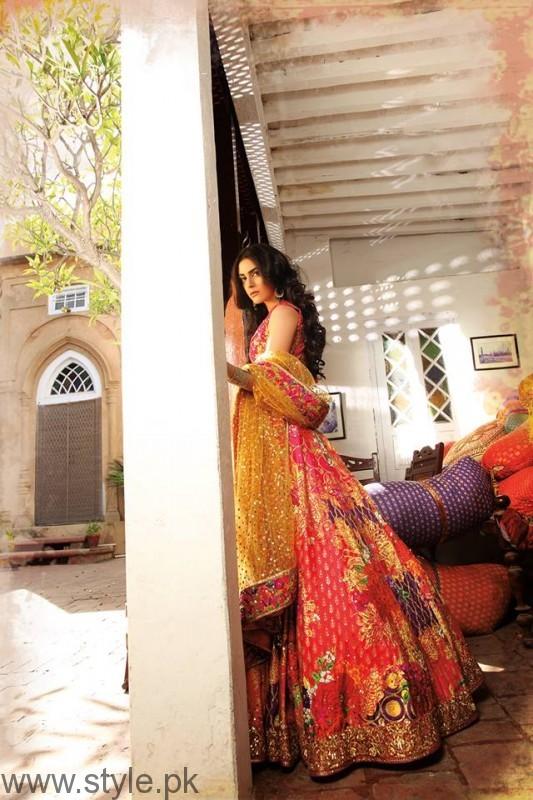 Nomi Ansari Bridal Dresses Worn by Maya Ali