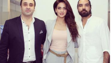 Saba Qamar during promotion of Lahore Se Agay (9)