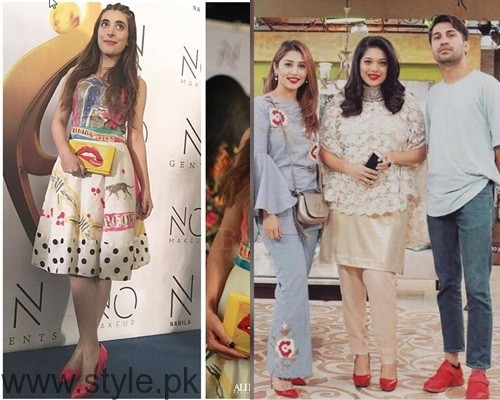 See Trend of Red Shoes in Pakistani Celebrities