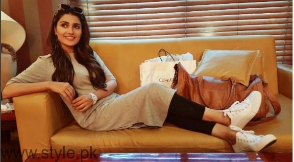 White Sneakers Trend in Pakistani Celebrities (15)