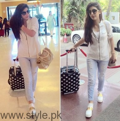 White Sneakers Trend in Pakistani Celebrities (2)