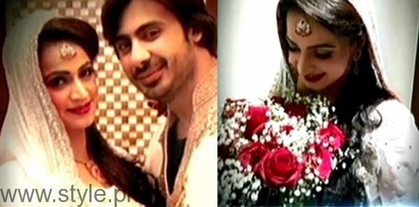 Noor Bukhari Wali Khan Wedding