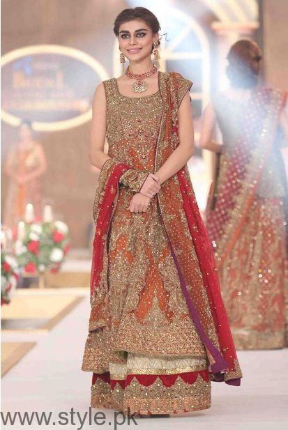 pakistani bridal dresses design 2017