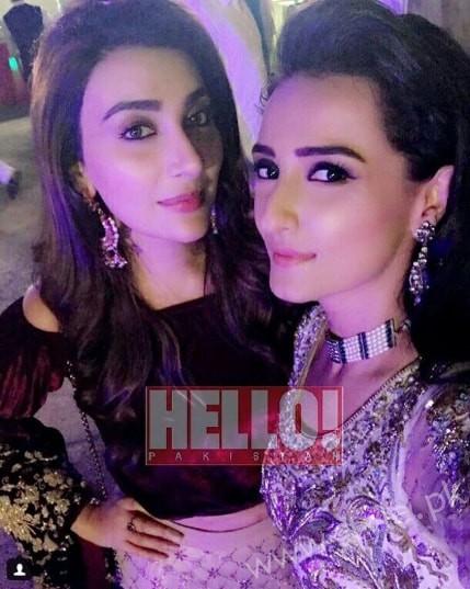 Ayesha Khan and Momal Sheikh at a Friend's Wedding (3)
