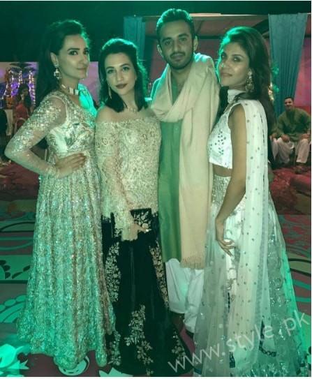 Ayesha Khan and Momal Sheikh at a Friend's Wedding (6)