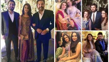 Celebrities Urwa Farhan Wedding