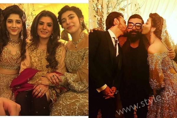See Celebrities at Urwa Farhan Wedding