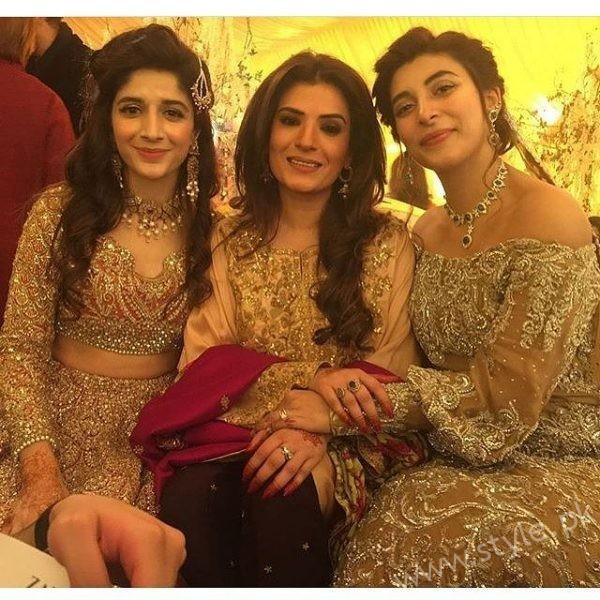 celebrities at urwa farhan wedding