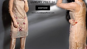 Erum Khan Pret Dresses 2016 - 2017 For Women001