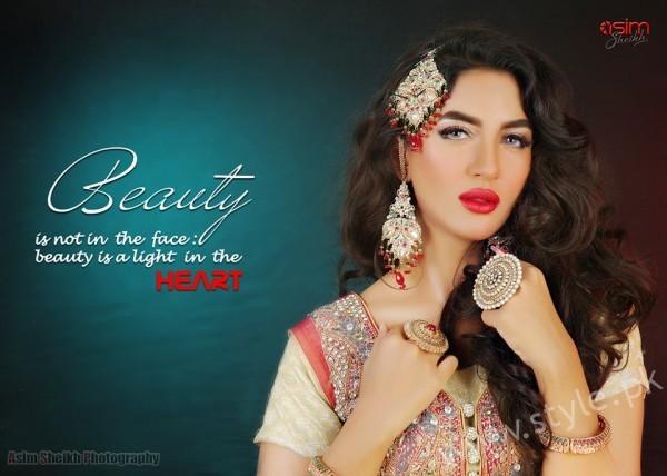 Mathira Mohammad And Feroza's Bridal Beauty Shoot For