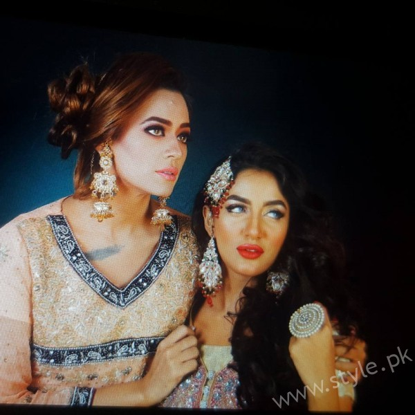 Mathira and Feroza Fabiolla Beauty Parlour