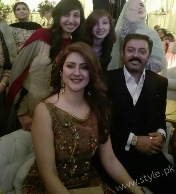 Noman Ijaz Wife and Son Urwa Farhan Wedding (1)