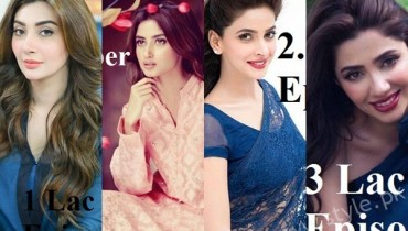 Pays of Top 10 Actresses in 2016Pays of Top 10 Actresses in 2016 (1)