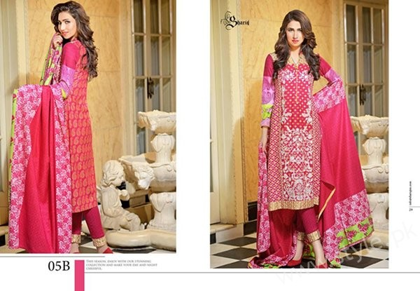 Reeva Linen Dresses 2016 By Shariq Textiles0014