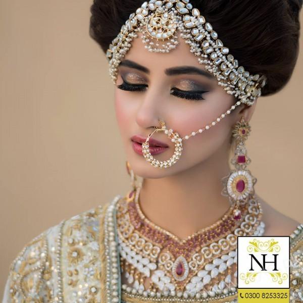 Sajal Ali Bridal Beauty Shoot Nadia Hussain