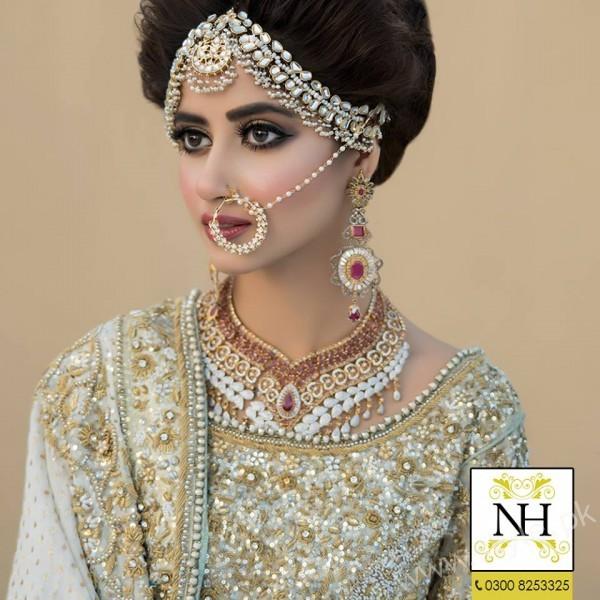 Sajal Ali Bridal Photoshoot