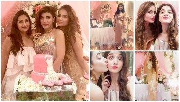 Urwa Hocane's Pink Bridal Shower