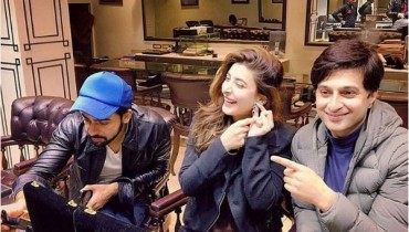 Urwa Hocane and Farhan Saeed selecting their Wedding Jewellery (3)