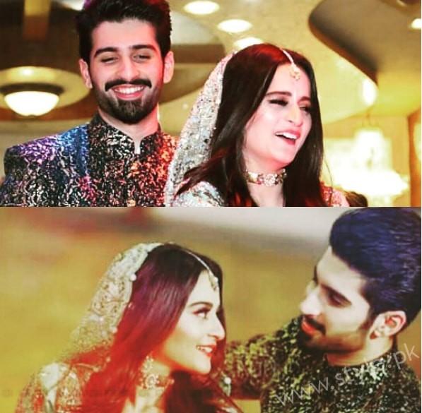 Aiman Khan Muneeb Butt Photoshoot on Engagement (10)