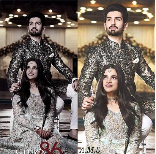 Aiman Khan Muneeb Butt Photoshoot on Engagement (12)