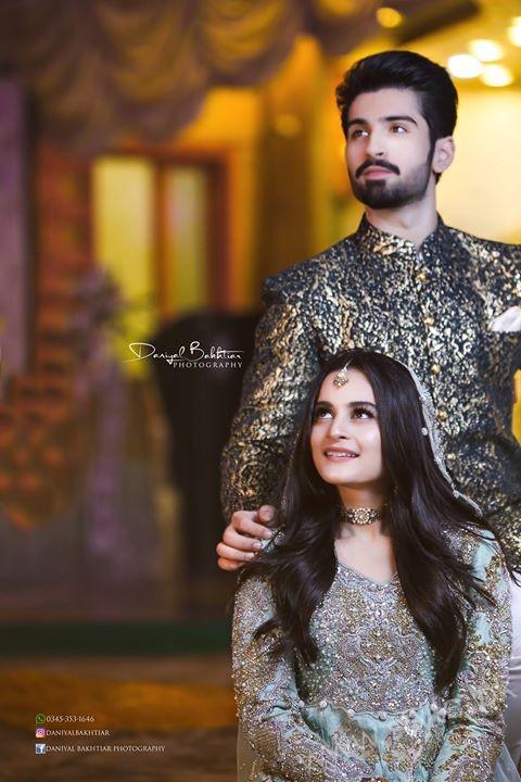 Aiman Khan Muneeb Butt Photoshoot on Engagement (17)